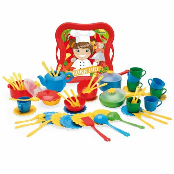 Party World zestaw kuchenny Kitchen set 59 el.