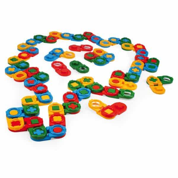 Domino edukacyjne 64 el.