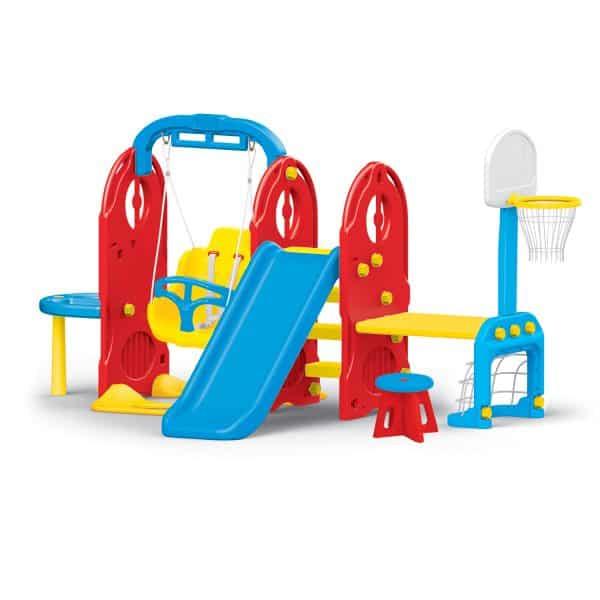 Plac zabaw ogrodowy 7 w 1